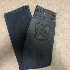 7 For All Mankind men's. 32. Relaxed, button fly.